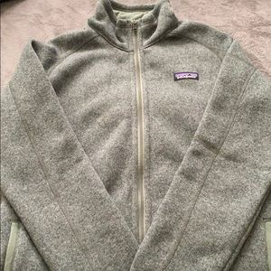 Patagonia W's Better Sweater full zip. Size large.